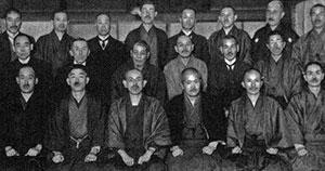 Alumnos de Mikao Usui